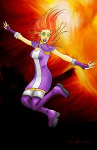 Starfire Poster